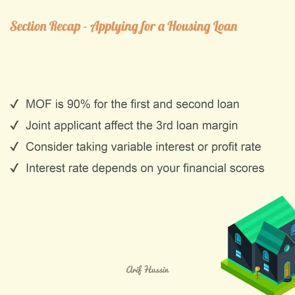 applying for a housing loan