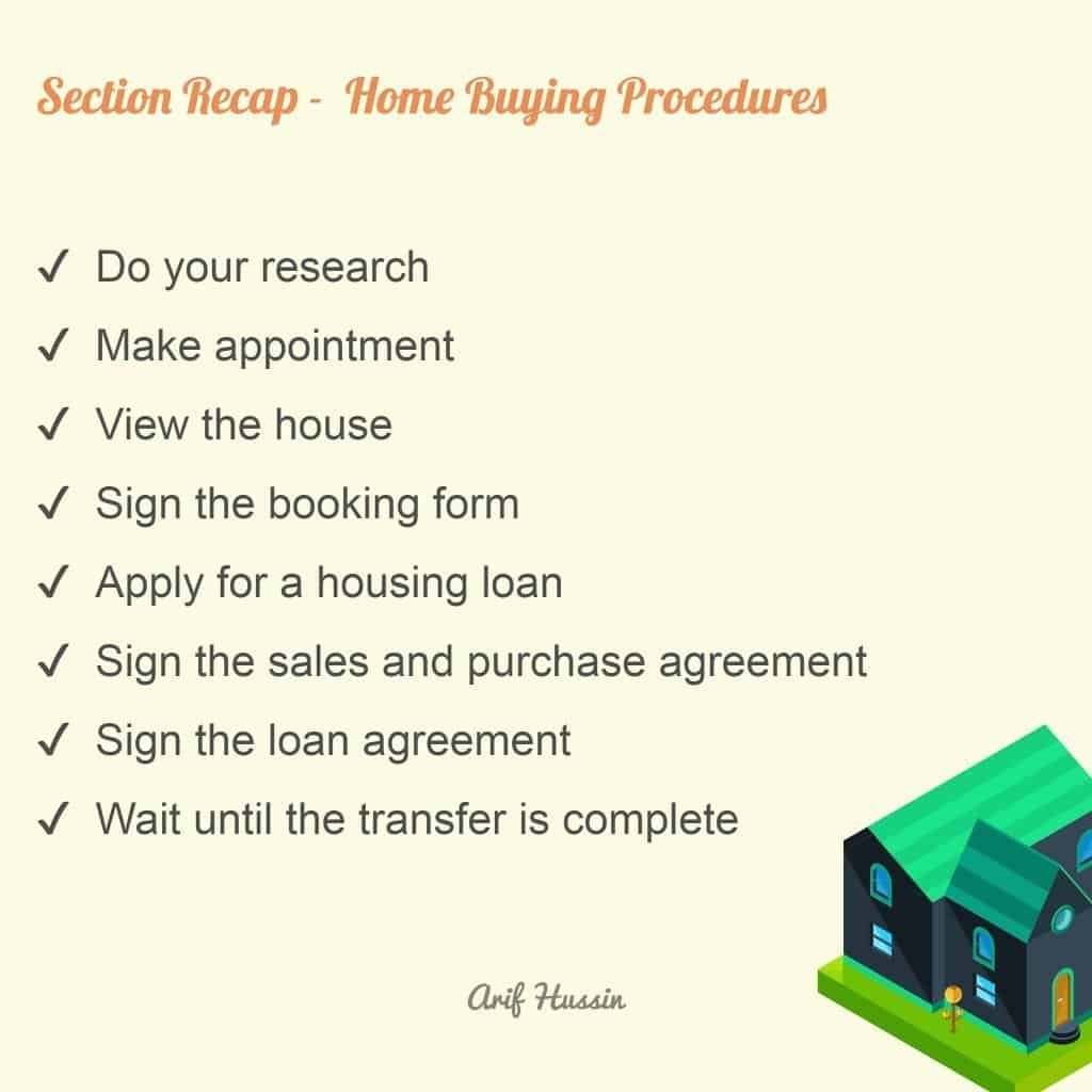 home buying procedures
